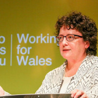 Ceredigion's political leaders praise heart of the community project in Aberporth